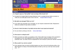 vote by mail faq page